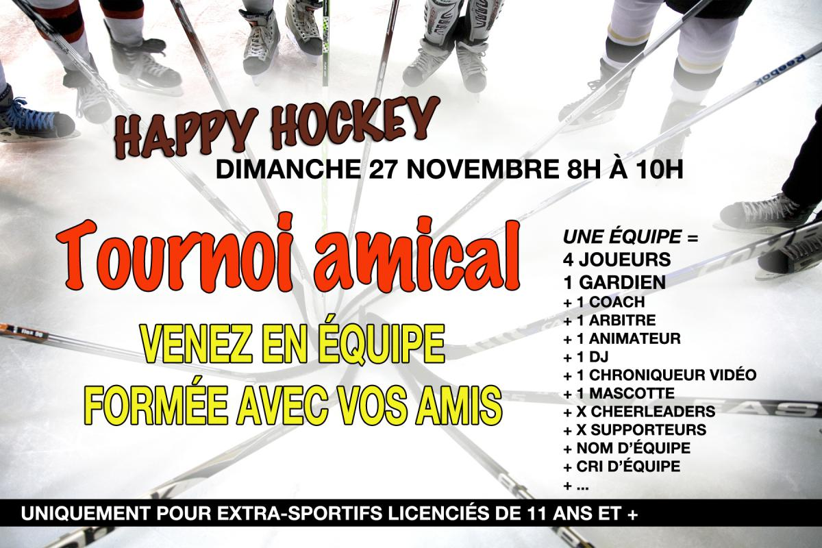 Happy Hockey Tournoi Amical dimanche 27 novembre 2016